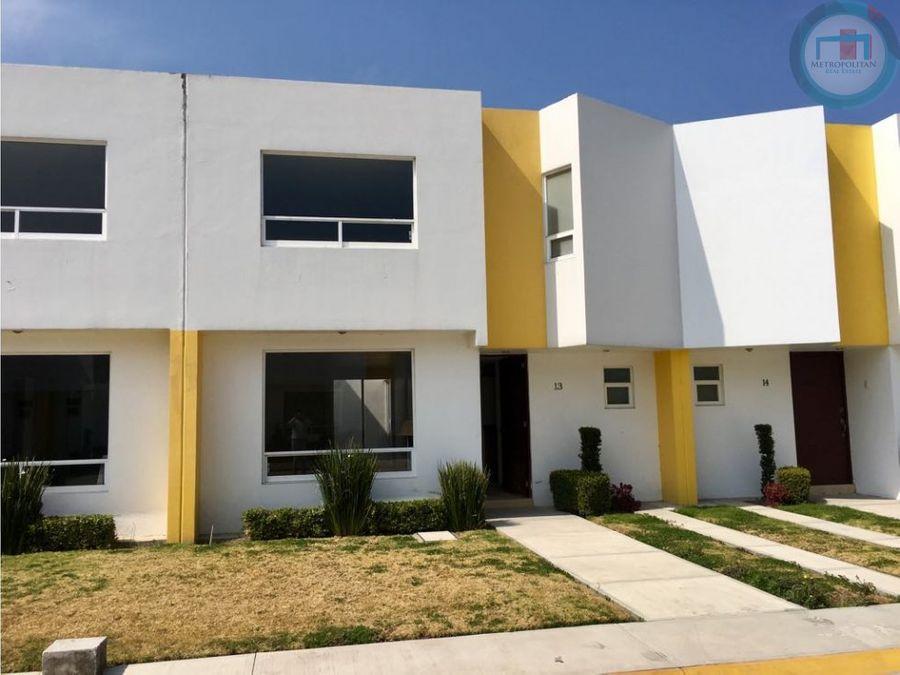 casa nueva venta san mateo limite con metepec
