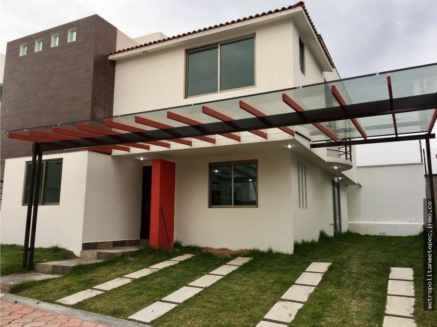 casa nueva en toluca fracc 15min del centro