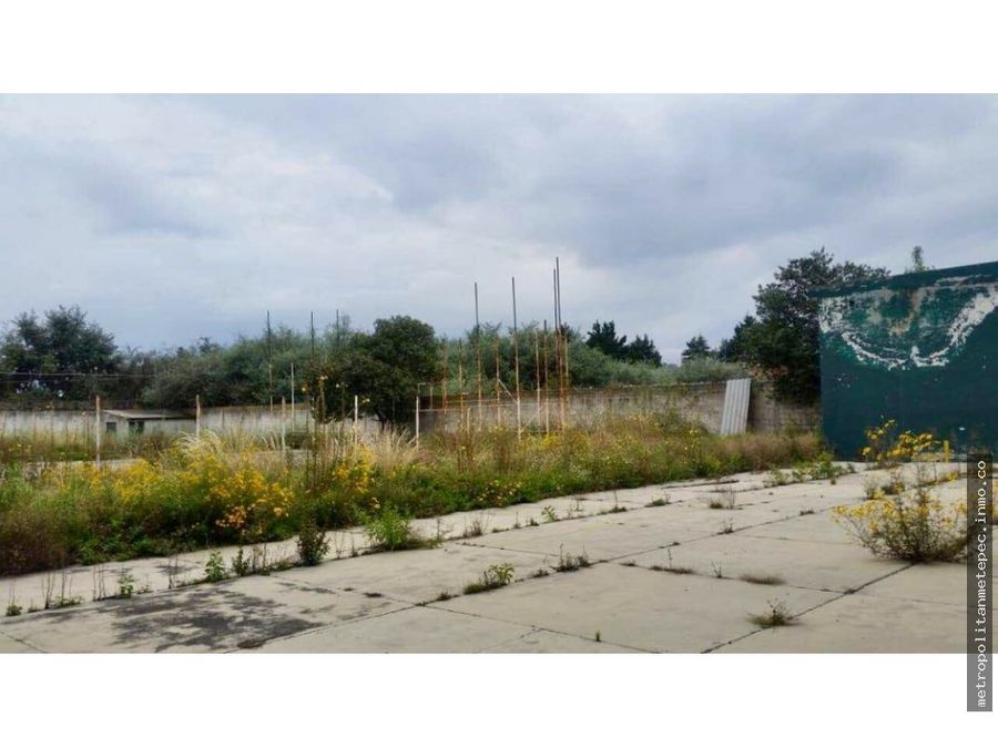 terreno en venta metepec a una cuadra de galerias