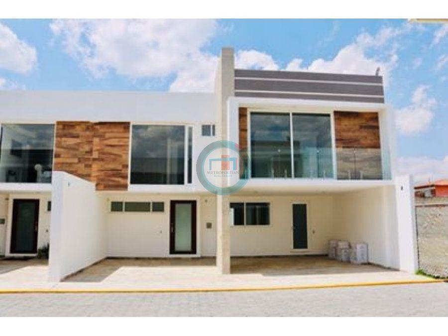 casa nueva venta metepec lujo y confort