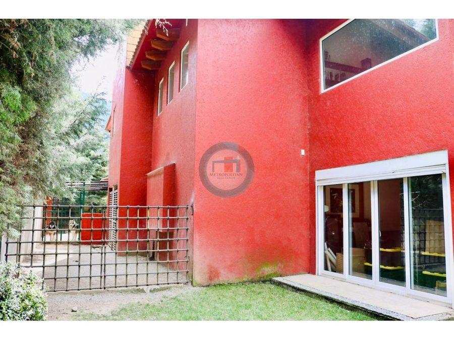 residencia en venta en lerma 2887m2 20 min de cdmx