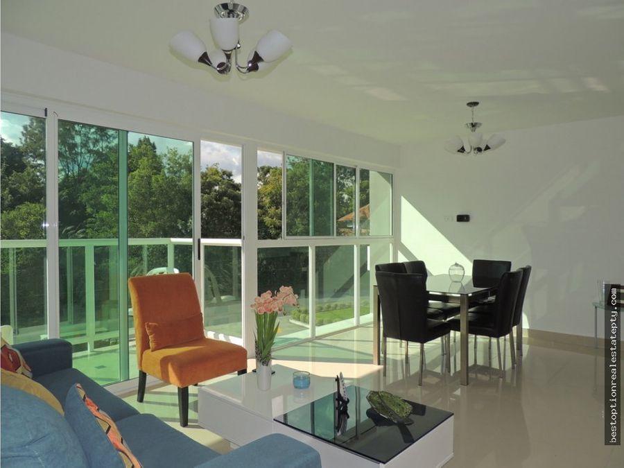 alquiler de apartamento full amoblado forest gate en clayton albrook
