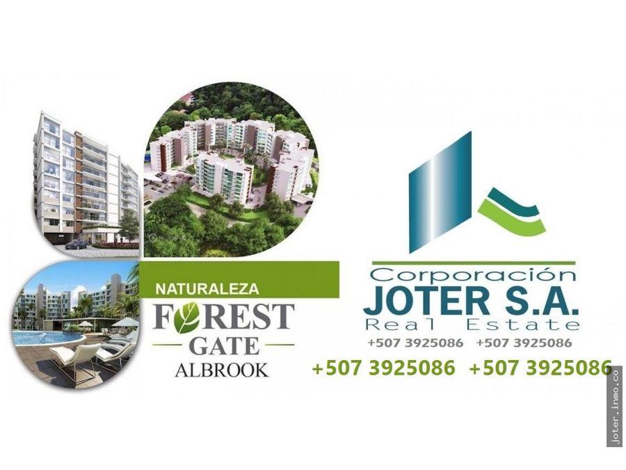 vendo amplio apartamento forest gate albrook