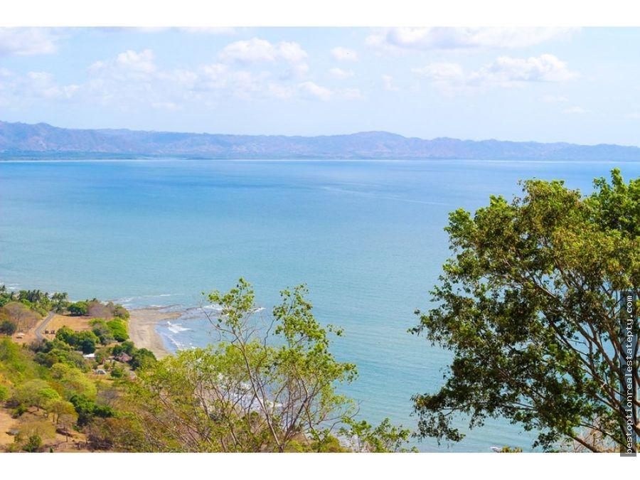 vendo lote terreno con impresionante vista al mar super precio
