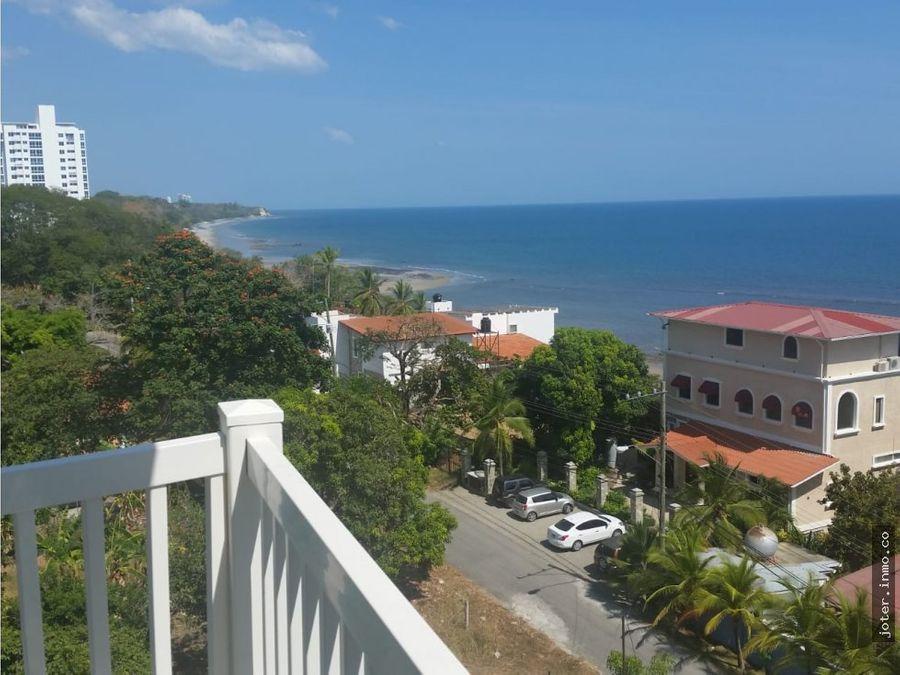 hermoso apartamento frente al mar amoblado jr