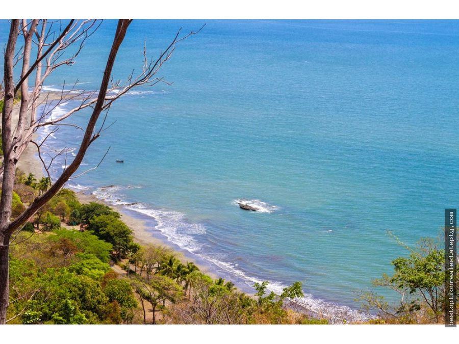 vendo lote terreno con vista al mar super precio