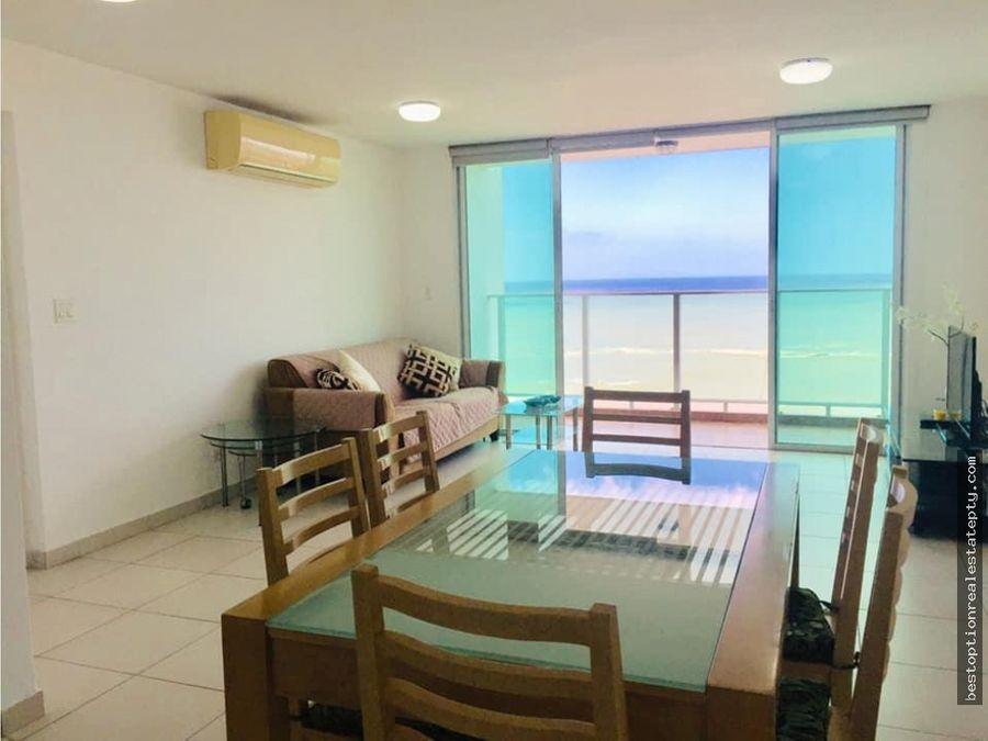 alquilo apartamento en san francisco con vista al mar