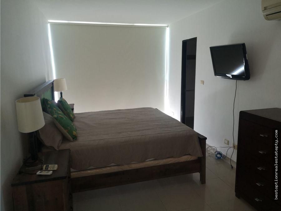 alquilo apartamento en punta pacifica 2 recamaras amoblado