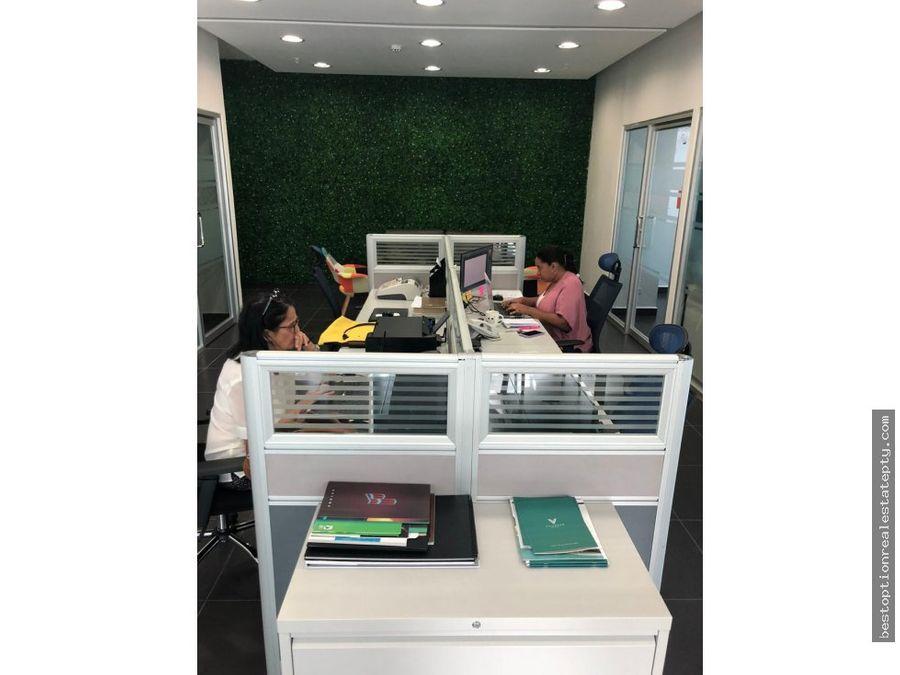 vendo oficina amoblada en prime time