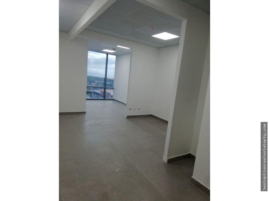 alquiler de oficina en torre prime time costa del este 50mts2