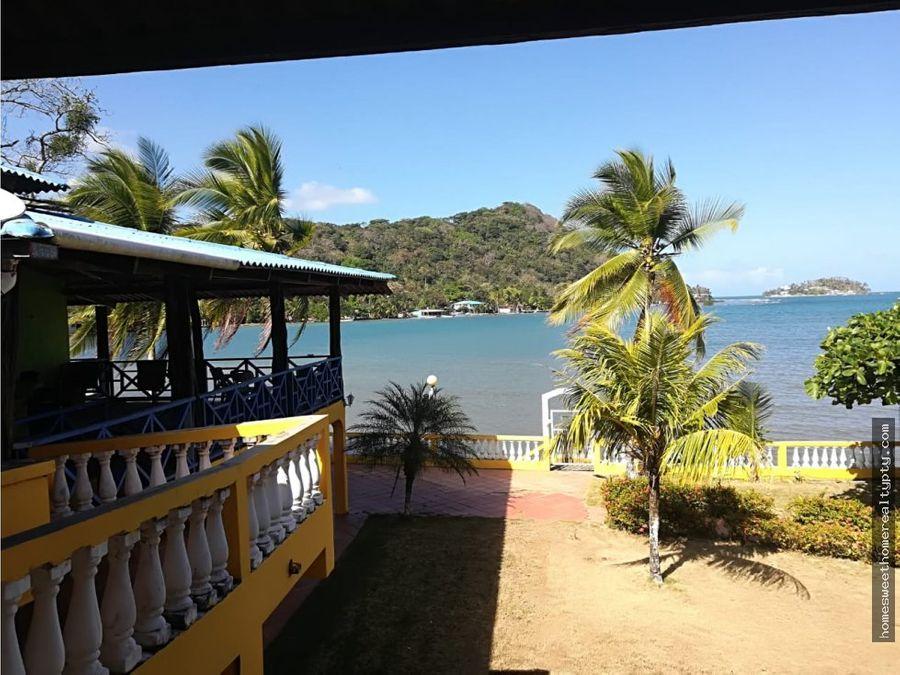vendo casa de playa ideal para posada en portobelo