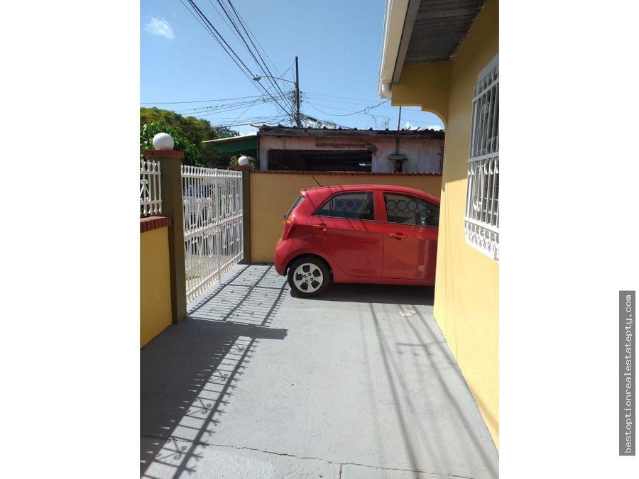 vendo casa en chorrera