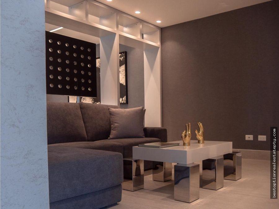 vendo apartamento en san francisco jade tower con den y linea blanca