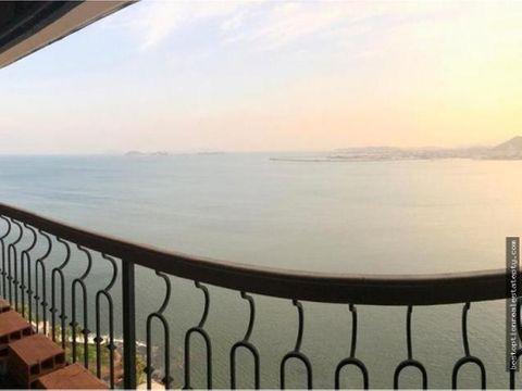 vendo apartamento punta paitilla 414m2 4 hab vista al mar
