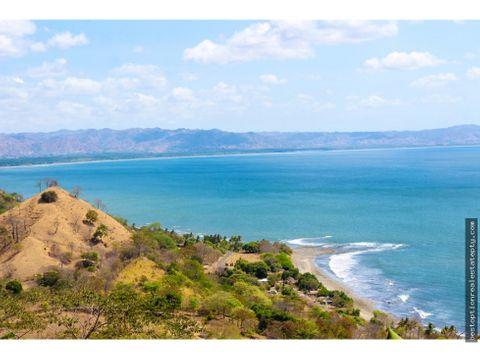 vendo lote terreno con hermosa vista al mar