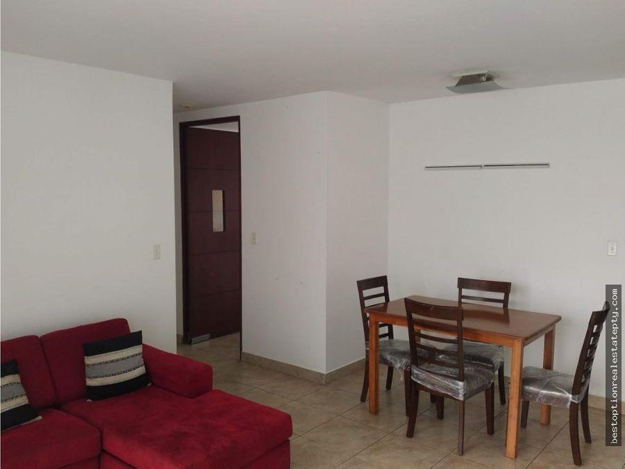 oportunidad vendo apartamento en el cangrejo amoblado