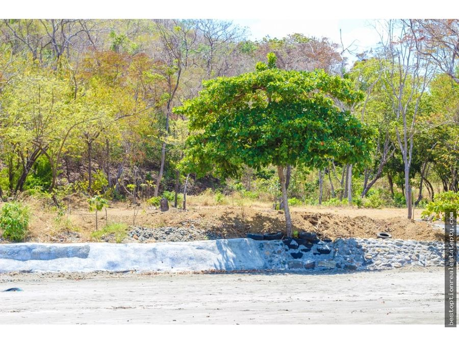 vendo lote terreno para desarrollo de resort de playa tonosi