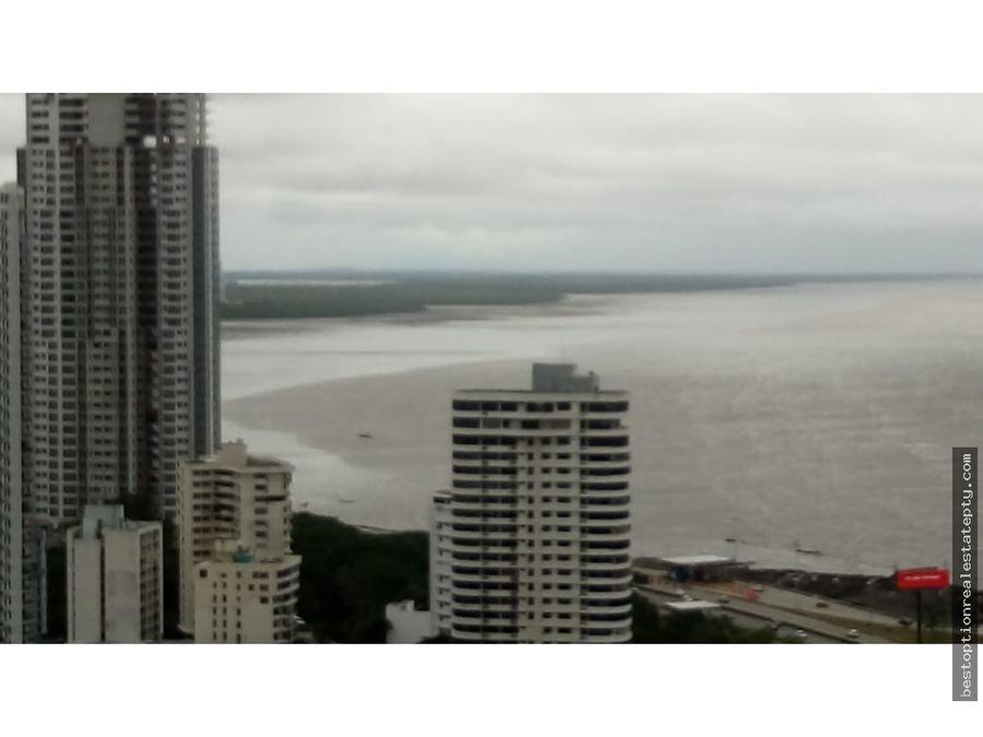 se vende amplio apartamento en san francisco vista al mar