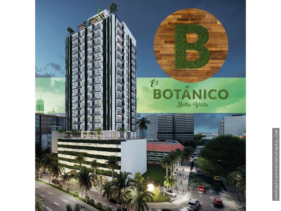 vendo apartamentos modernos en bella vista el botanico