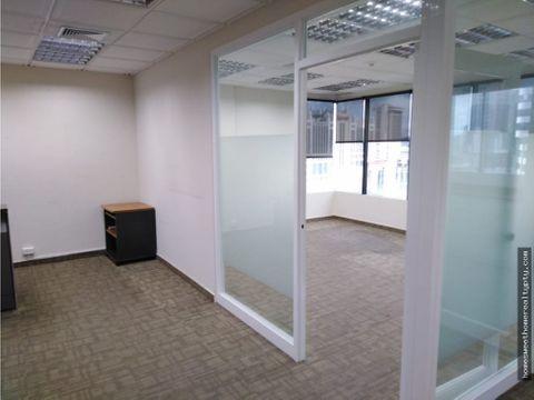 alquilo comoda oficina en calle 50