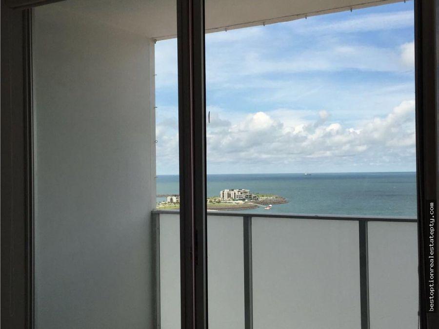 alquilo apartamento en punta pacifica 2 recamaras vista al mar