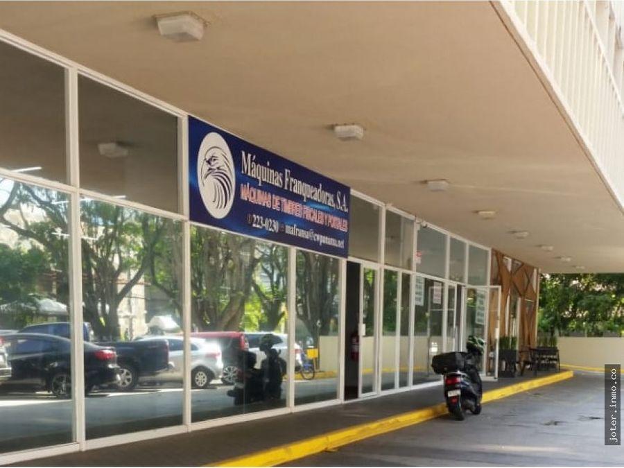 inversionistas venta de local alquilado obarrio