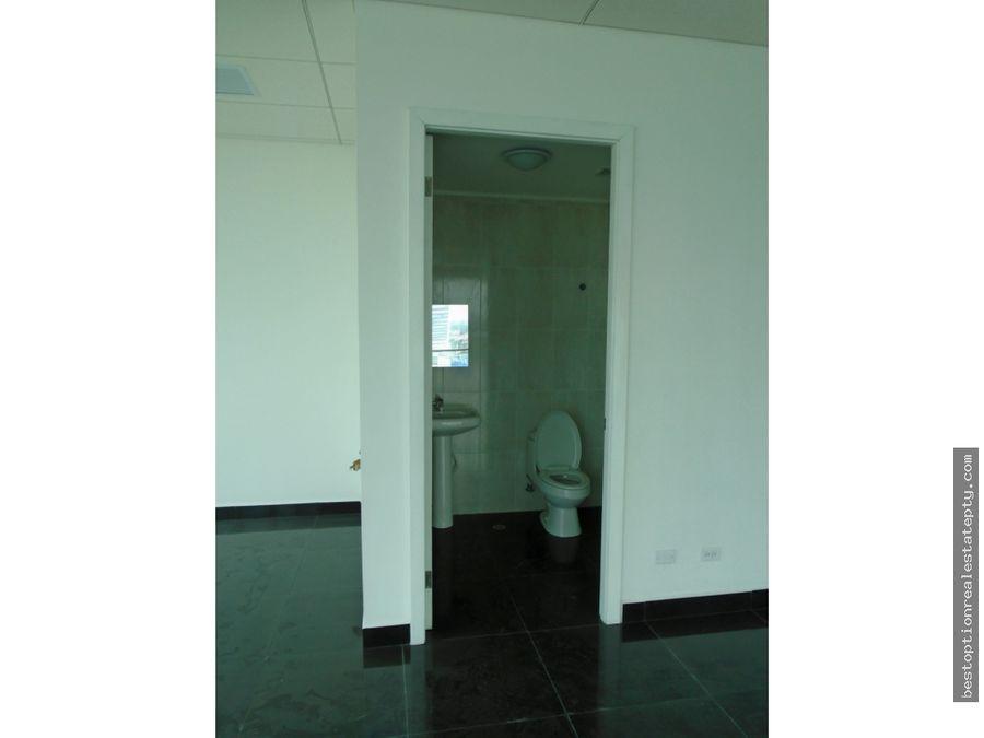 alquiler de oficina en torre prime time costa del este 250mts2
