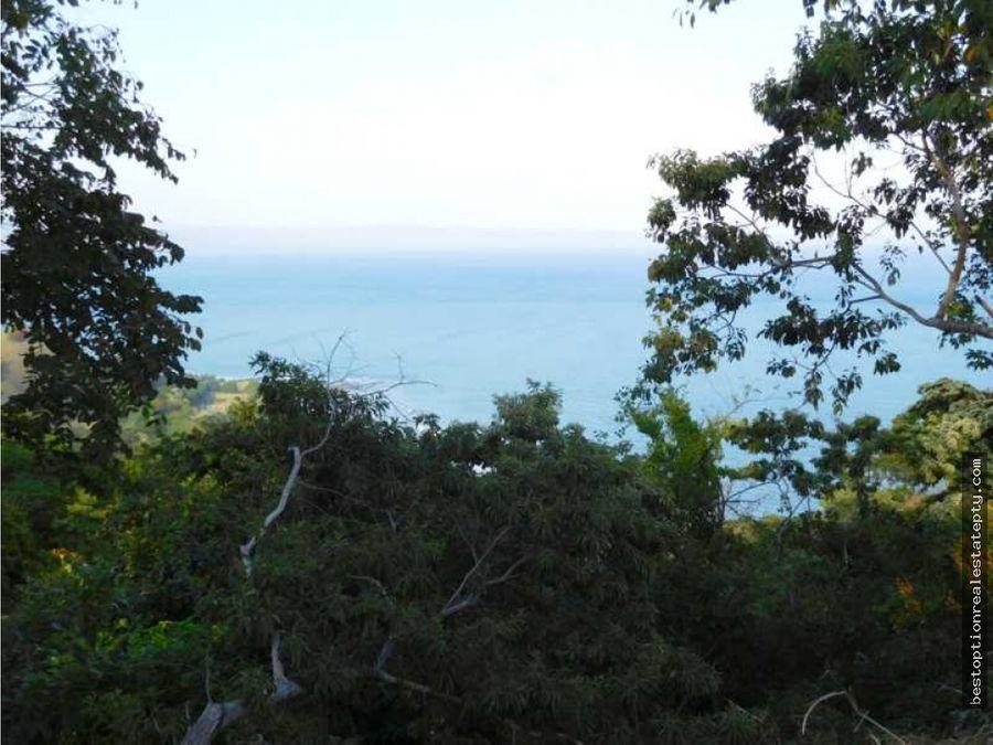 vendo lote terreno con vista al mar super descuento