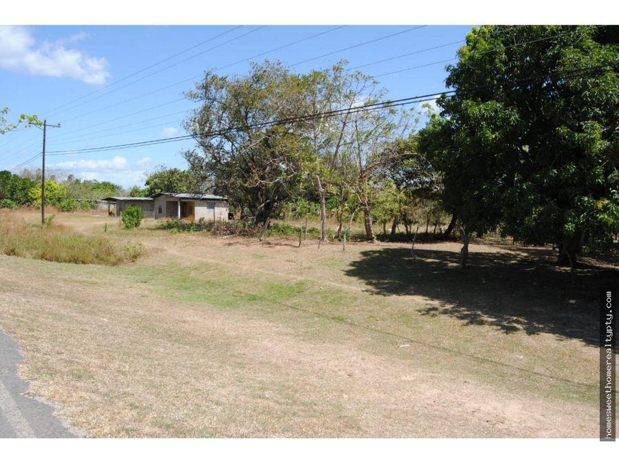 vendo terreno en provincia de cocle jr