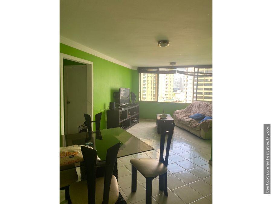 oportunidad apartamento en obarrio calle 50 128 mil