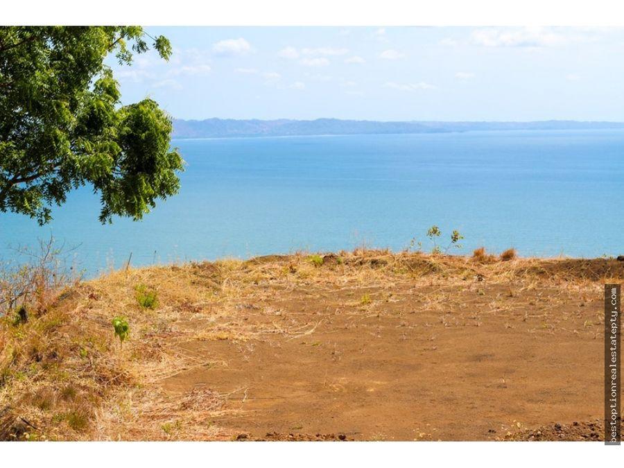 vendo lote terreno con vista al mar tonosi