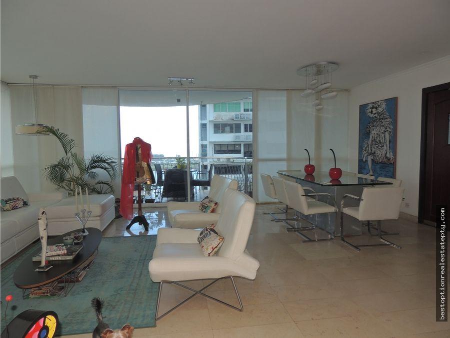 venta apartamento vista del sol en punta paitilla ciudad de panama