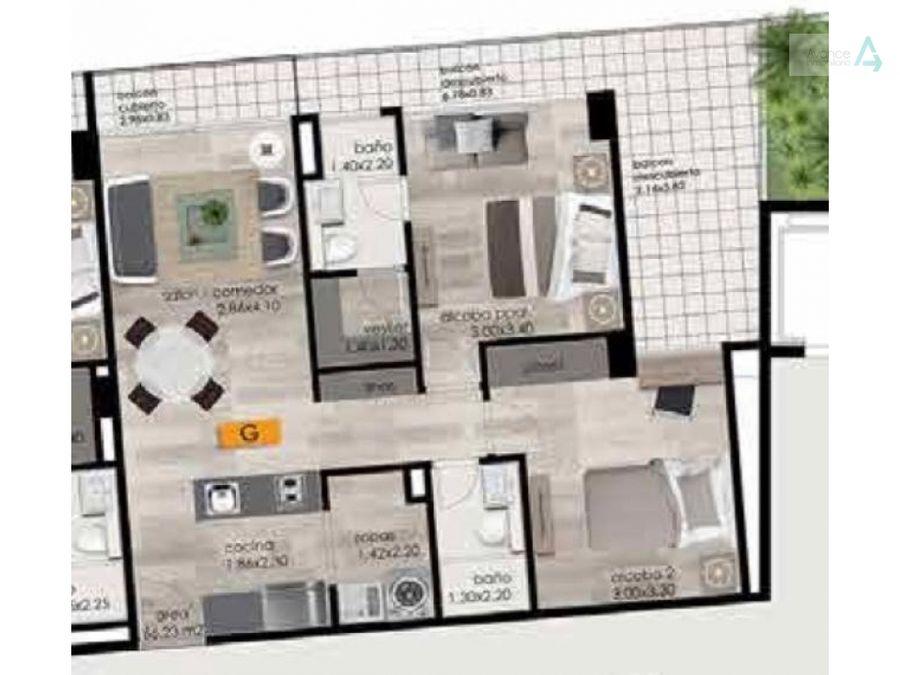 apartamento en venta en el retiro