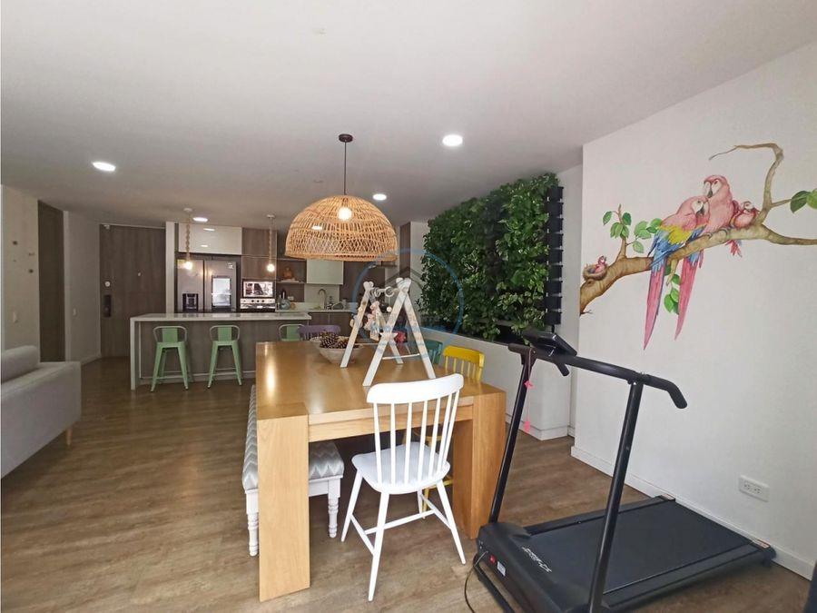 venta apartamento de 173 mts2 en loma de las brujas envigado