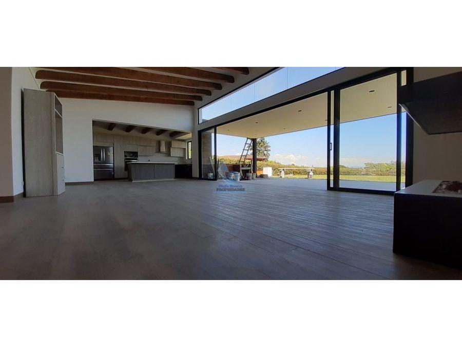 venta de casa sector sajonia rionegro