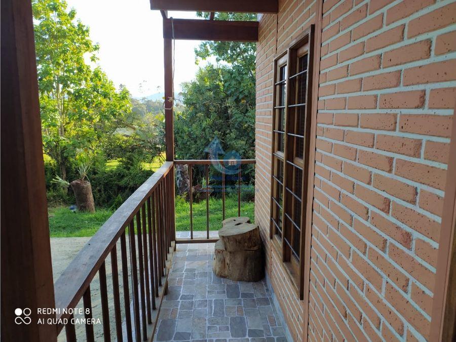 alquiler casa finca cabana en el carmen de viboral