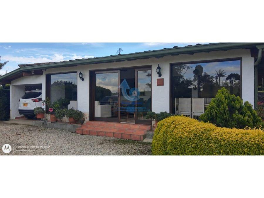 venta casa finca en el carmen de viboral