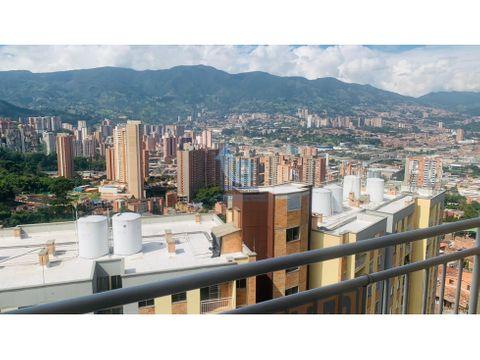 venta apartamento en envigado alto de las flores piso alto