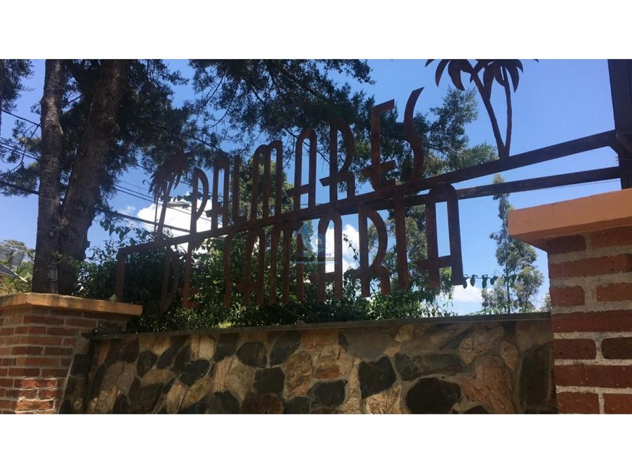 casa finca cerca a san antonio de pereira carmen de viboral