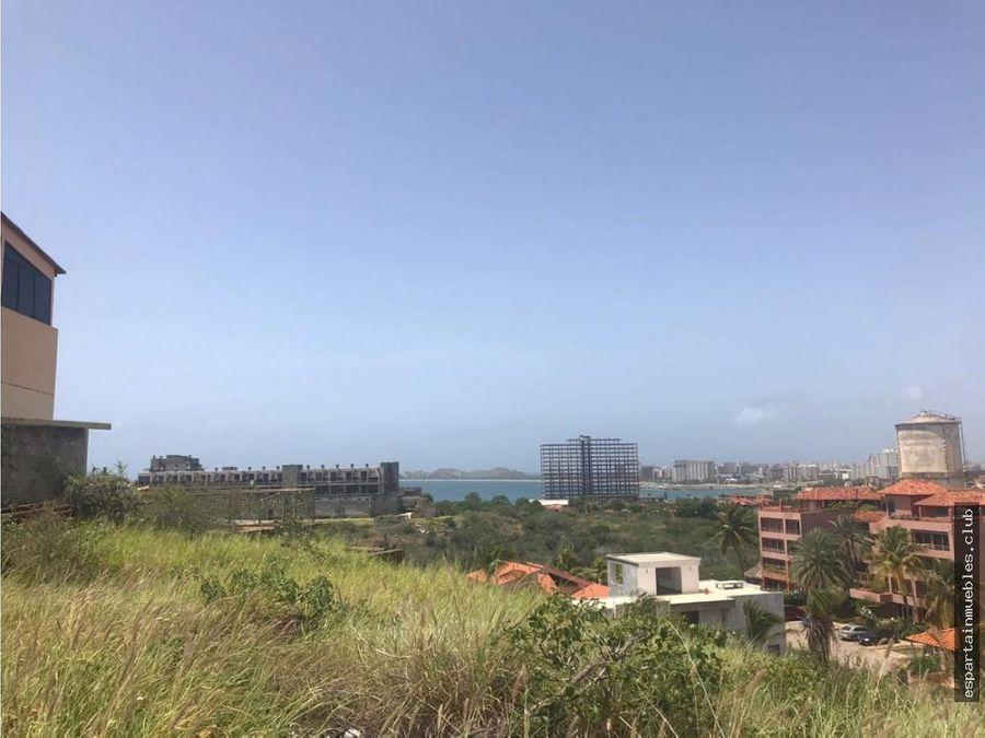 terreno residencial las lomas playa el angel venta margarita