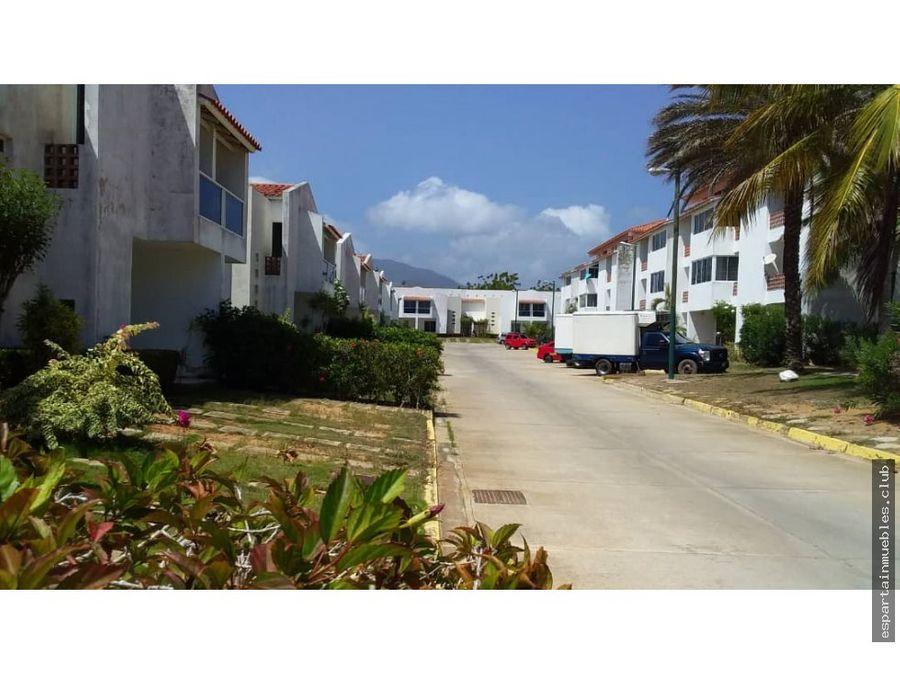 villavela town house venta margarita