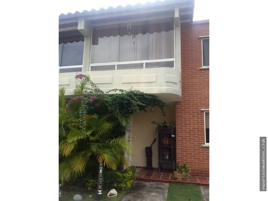 town house villas del valle venta margarita