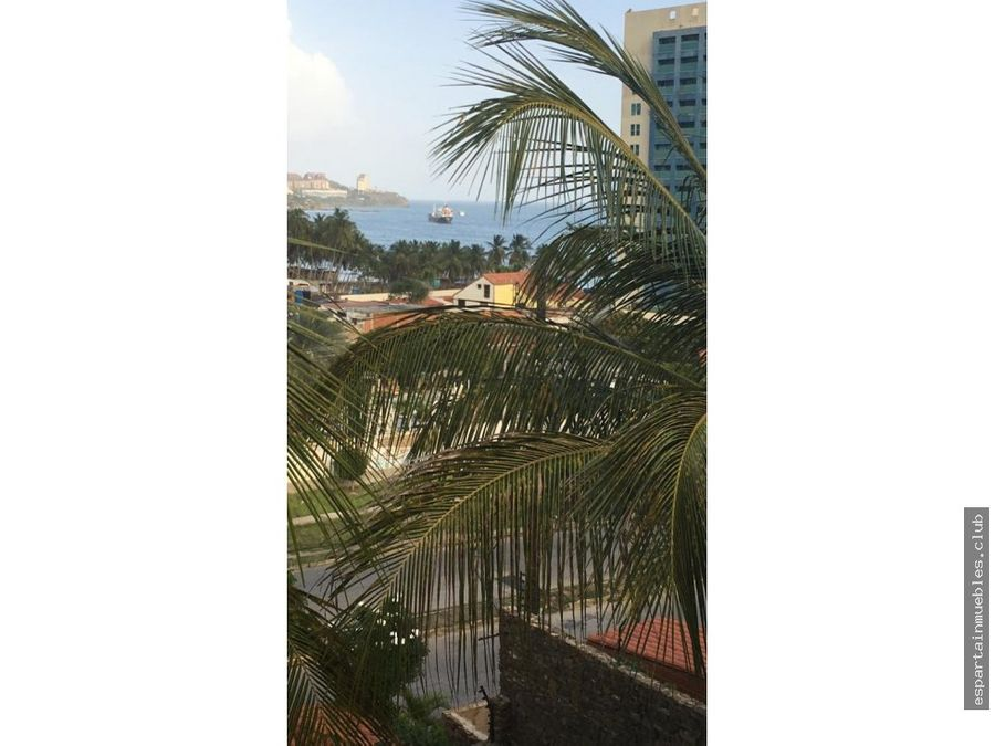alquiler duplex vista al mar pampatar