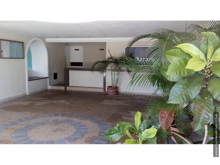 edif paraiso apartamento venta margarita