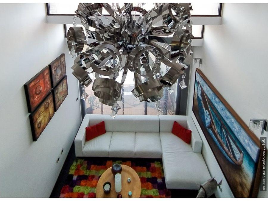 apartamento de lujo en la roca loft 230mts
