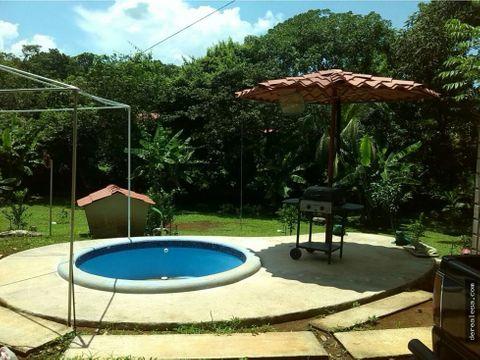 casa quinta en orotina 3080m2 con piscina