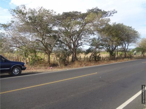 terreno 27 ha carretera a playas del coco