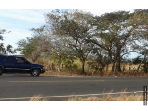 terreno 27ha carretera sardinal el coco