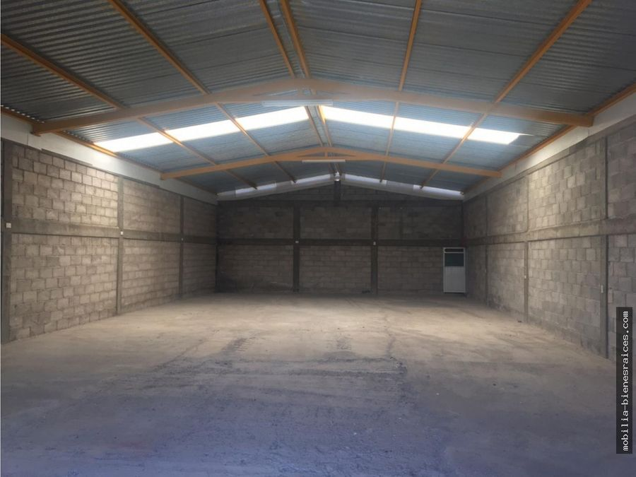 bodega 200 m2 en renta 17000