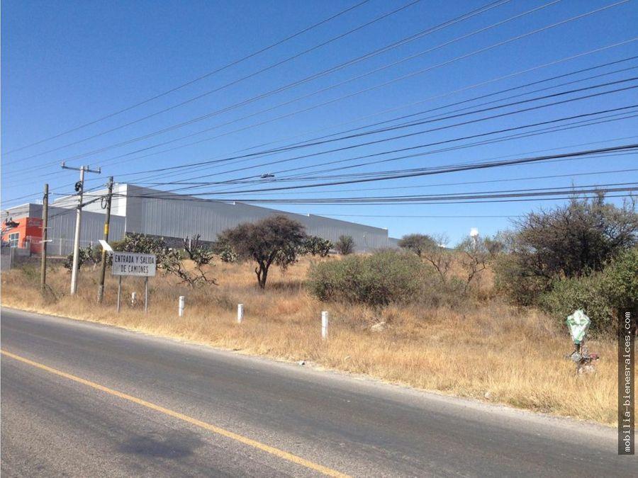 se renta terreno industrial
